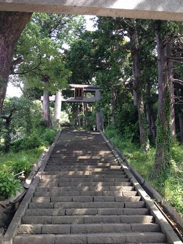 恋する神社~伊豆山神社の鳥居~