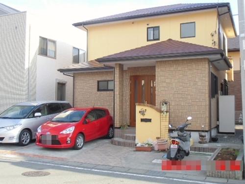 長泉 A様邸 外壁・屋根塗装、サイクルポート他