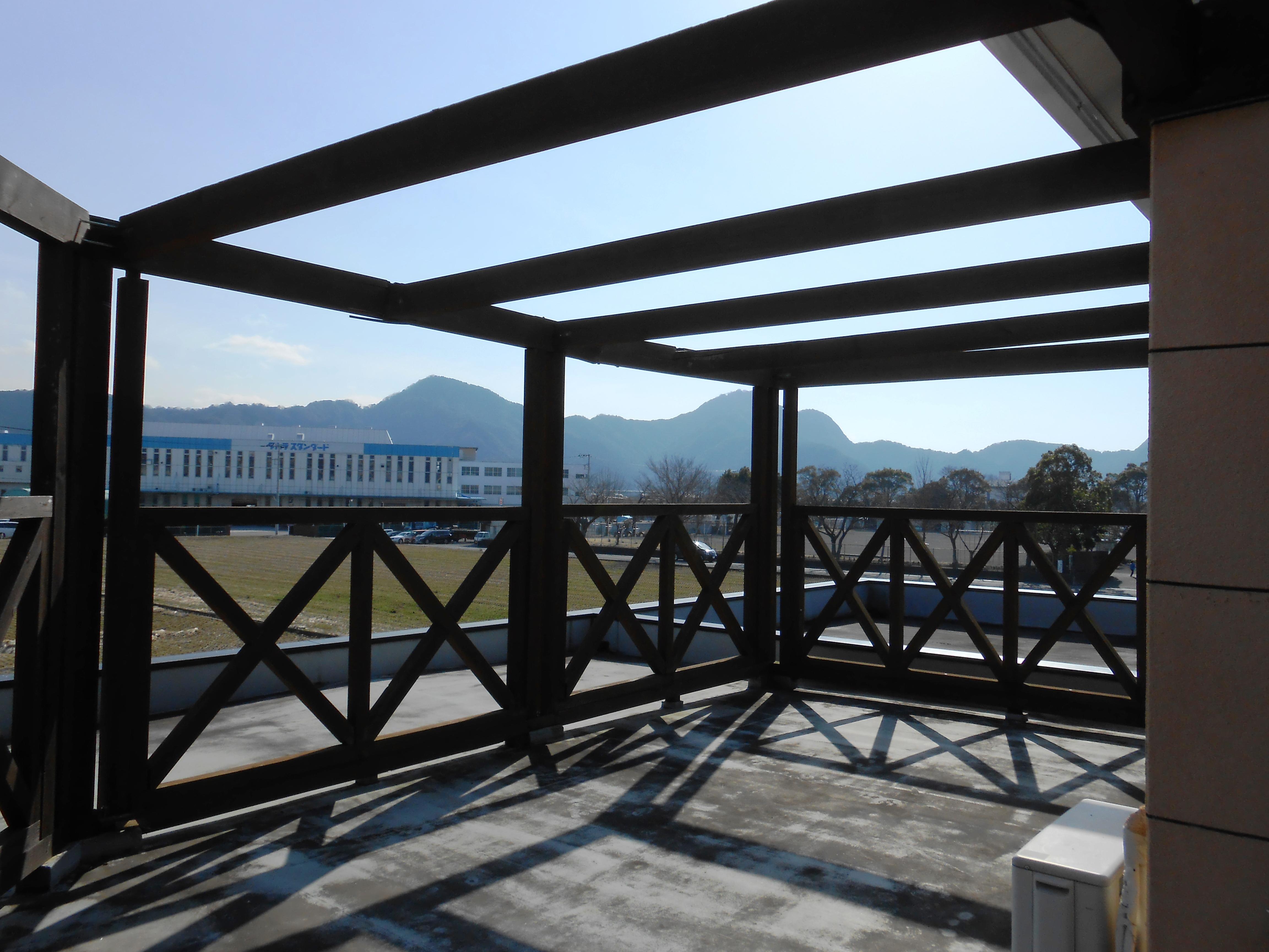 O様邸 木製フェンス解体アルミフェンス設置・屋上防水工事
