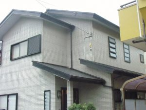 S様邸 外壁屋根塗装・軒天張替工事・IHクッキングヒーター