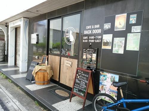 三島でランチ♪ CAFE&BAR BACKDOOR