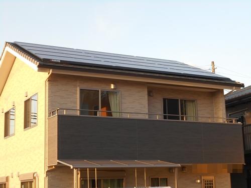 富士宮 A様邸 Rooflex 5.50kW・テラス屋根